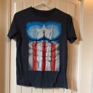 Captain America 🇺🇸 Tee - Youth L
